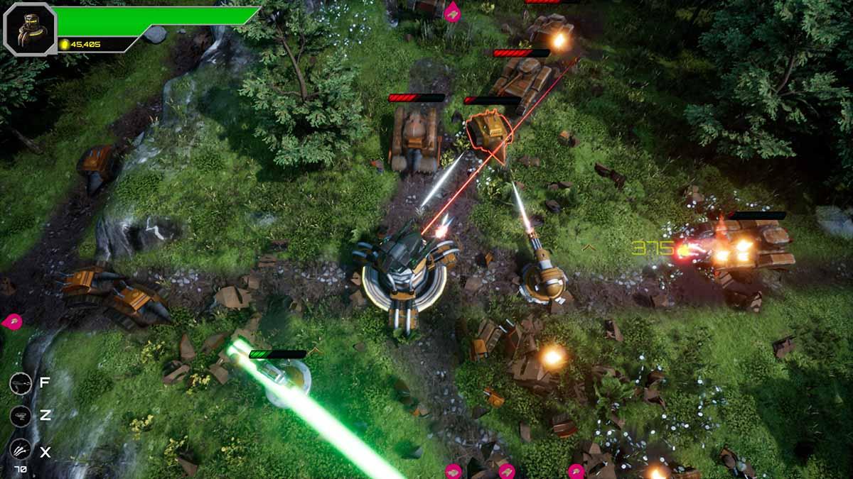 Игра Armoured Onslaught наконец-то доступна в Steam