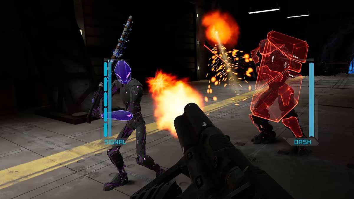 Научно-фантастический VR-шутер Boiling Steel вышел в Steam