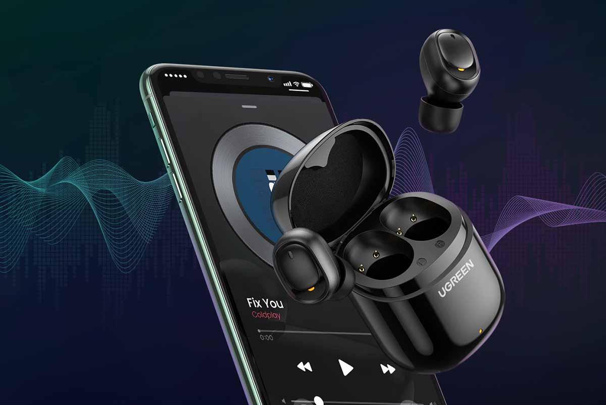 Наушники UGREEN TWS True Wireless Earbuds создают новый стандарт беспроводного аудио