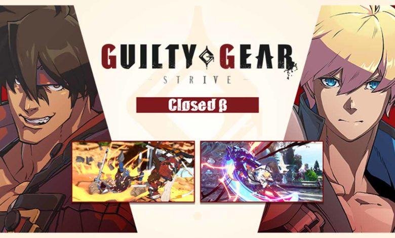 Объявлена дата ЗБТ Guilty Gear -Strive-