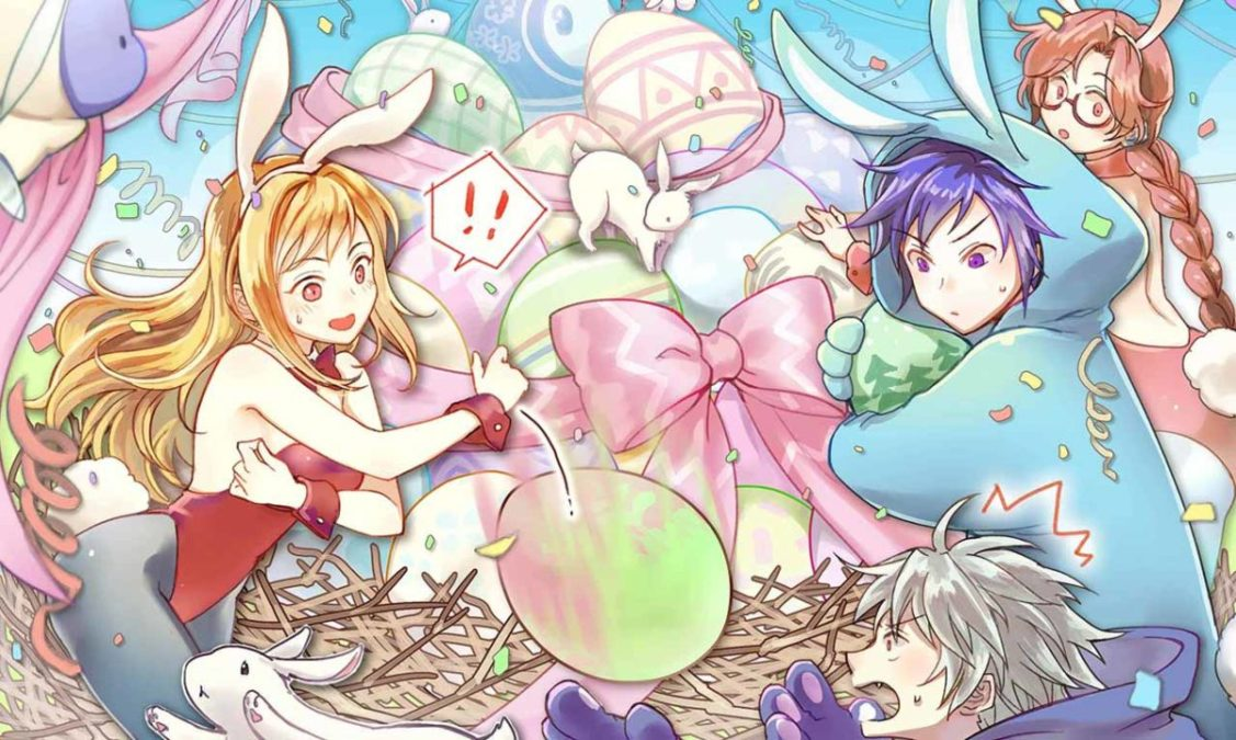 Празднование Пасхи в Grand Fantasia