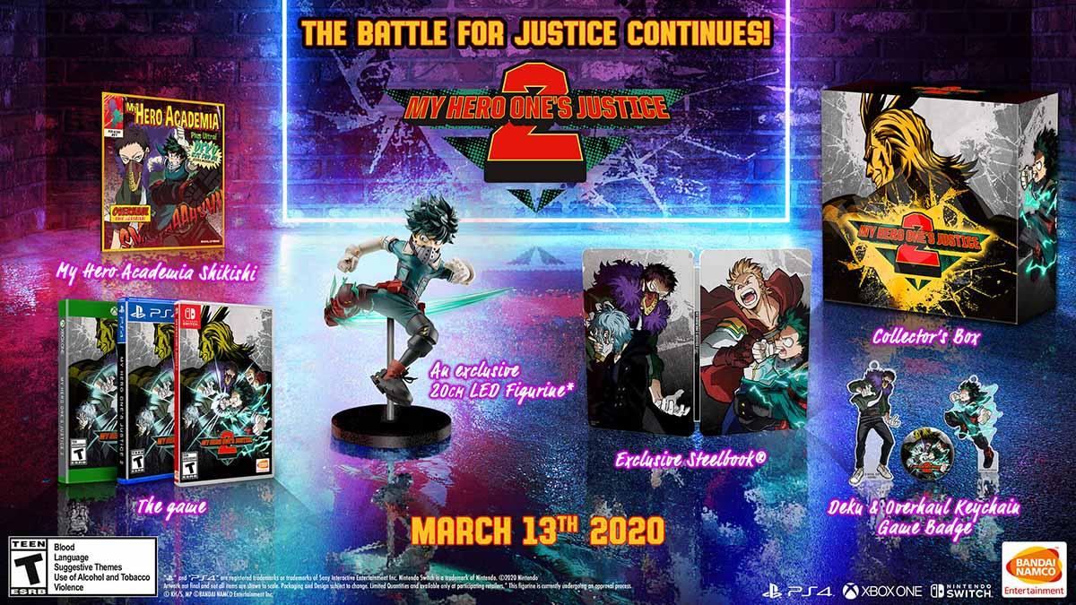 Photo of Предварительно заказав My Hero One's Justice 2 можно будет получить некоторые льготы