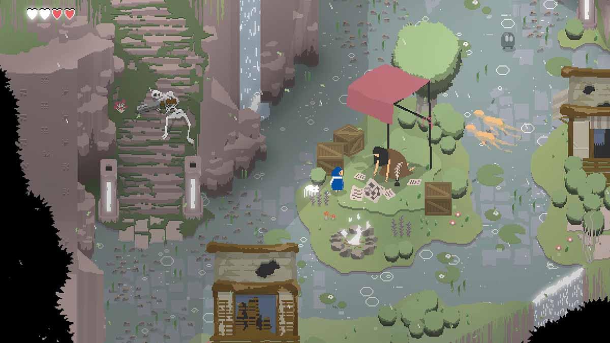 Прекрасная пиксельная игра ITTA появится на ПК и Nintendo Switch в апреле