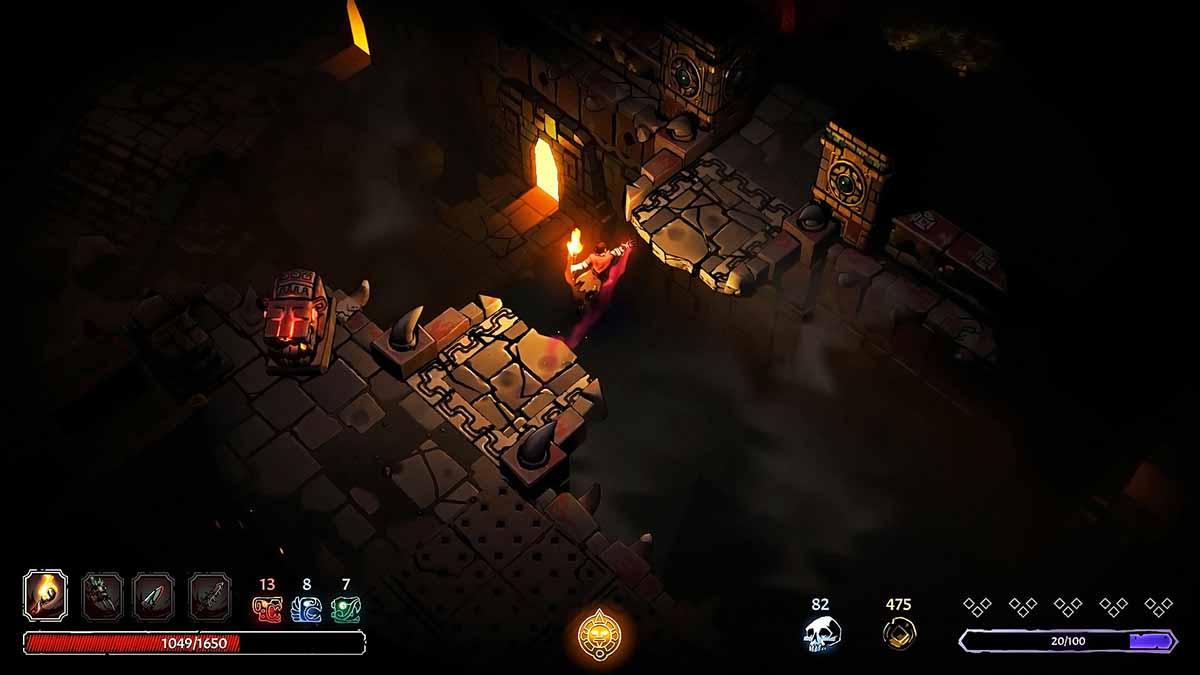 Рогалик Curse of the Dead Gods доступен в раннем доступе в Steam