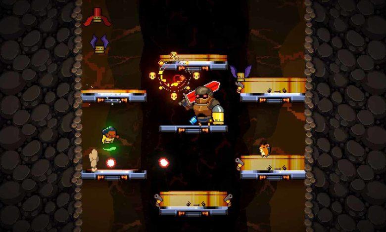 Сегодня Exit the Gungeon стала доступна на Nintendo Switch и Steam