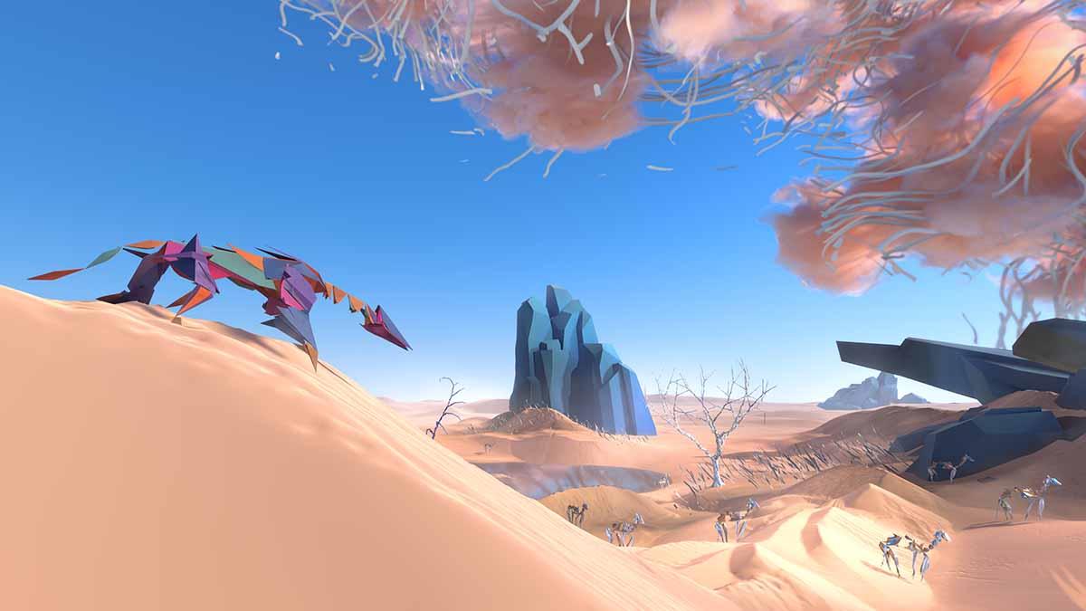 Сказочная одиссея Paper Beast прибывает на PS VR 24 марта
