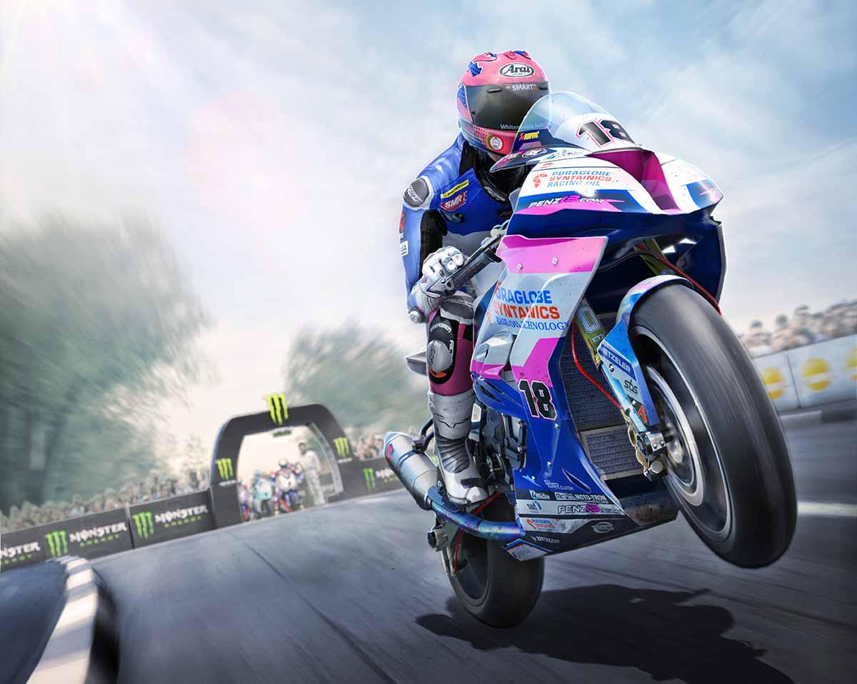 Станьте легендой для мотоциклинга в TT Isle of Man - Ride on the Edge 2