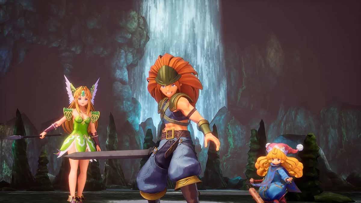 Увлекательный мир фантазий в новом трейлере для Trials of Mana