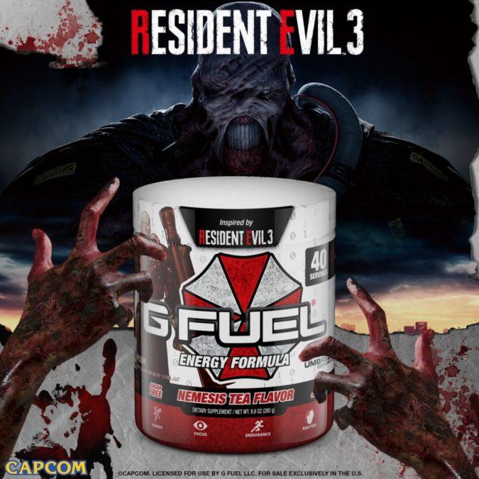 Чай G FUEL - Resident Evil 3