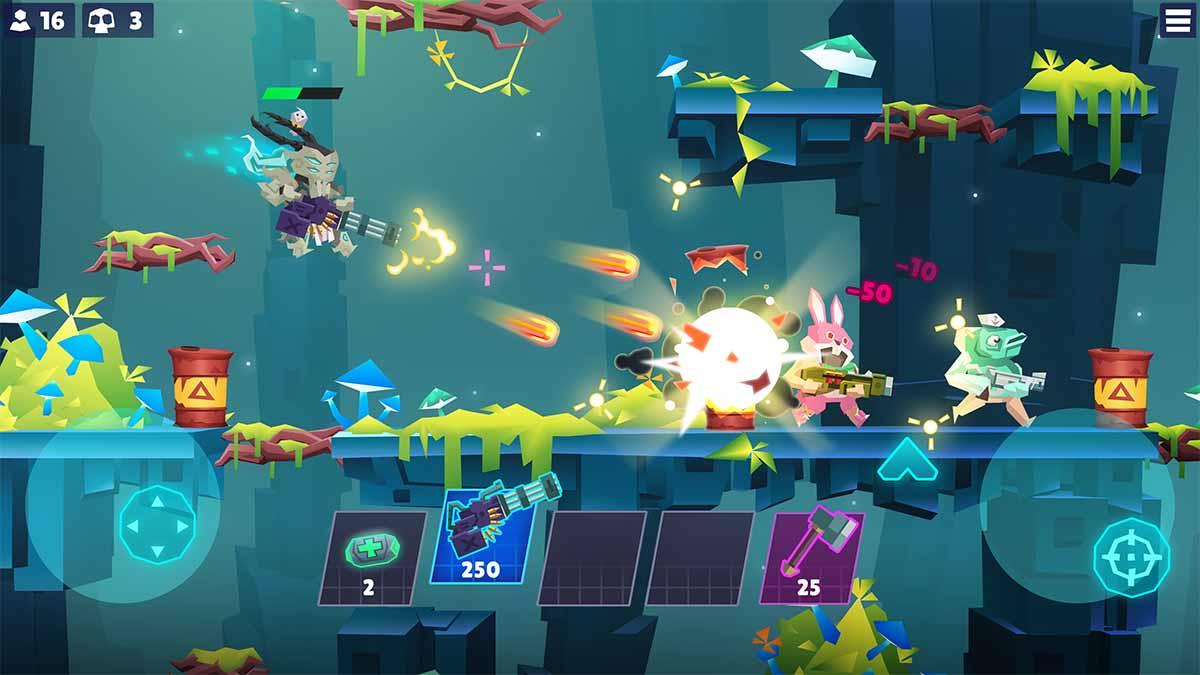 2D-платформер Bullet League теперь доступен для бесплатной загрузки на iOS и Android