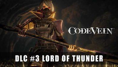 Photo of DLC «Властелин грома» в Code Vein раскрывает новые вызовы и награды для игроков