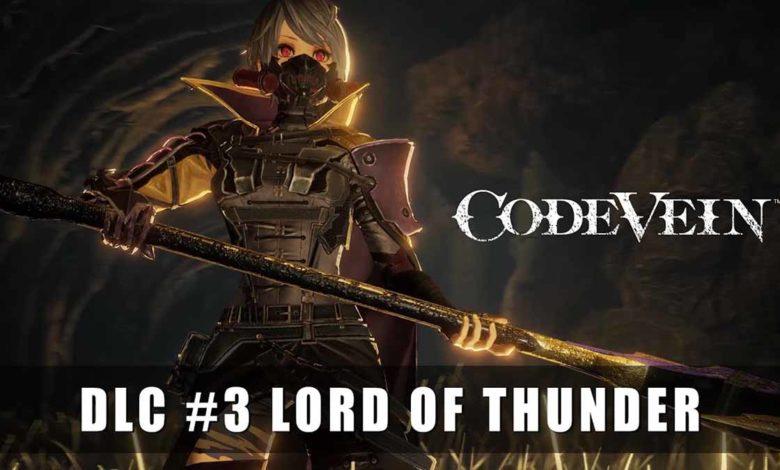 DLC «Властелин грома» в Code Vein раскрывает новые вызовы и награды для игроков