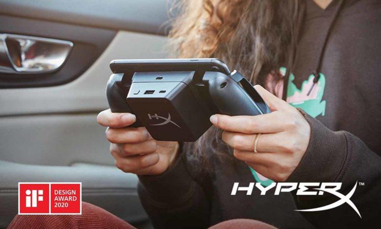 HyperX выпустили ChargePlay Clutch для смартфонов
