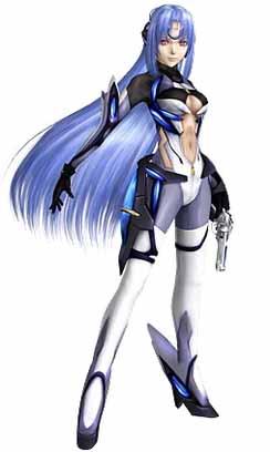 KOS-MOS - вымышленный персонаж из серии ролевых видеоигр Xenosaga от Monolith Soft и Bandai Namco Entertainment