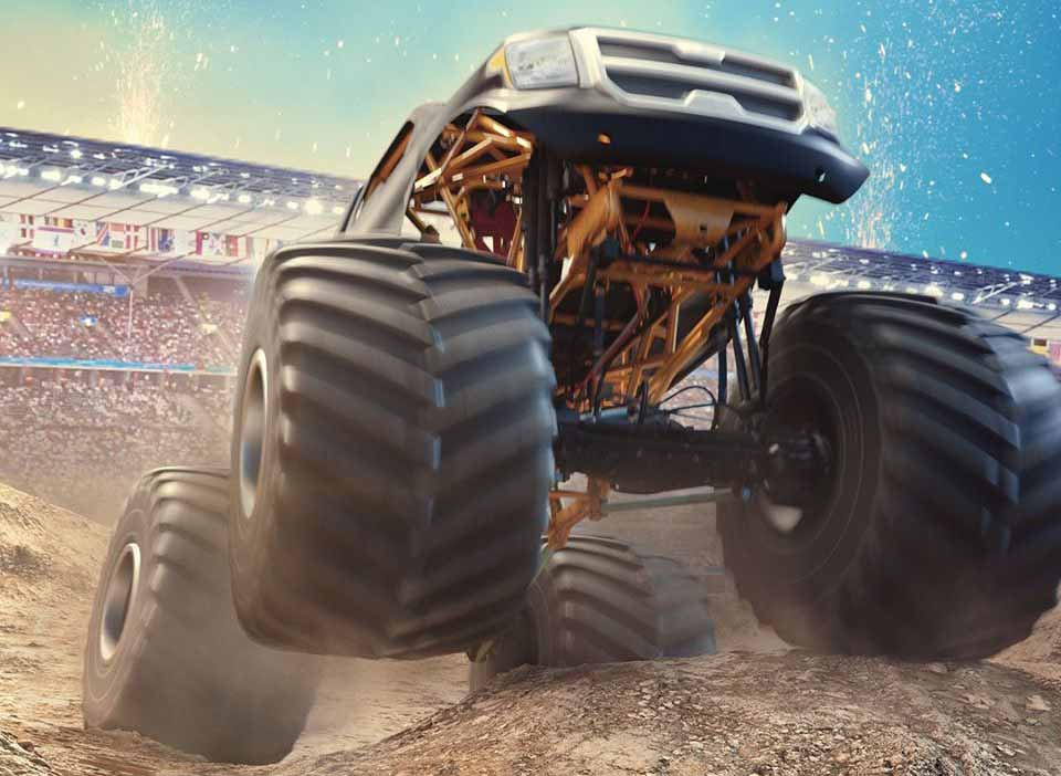 Monster Truck Championship выйдет осенью на PS4, Xbox One, Nintendo Switch и PC