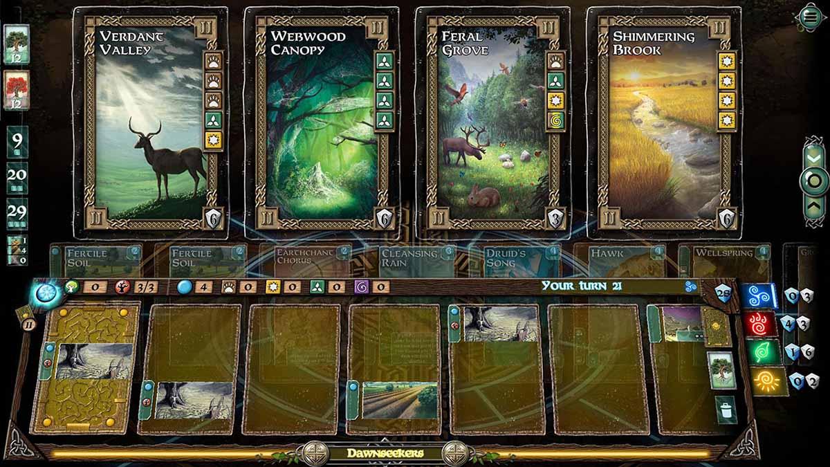 Photo of Mystic Vale использует инновационную систему крафта карт