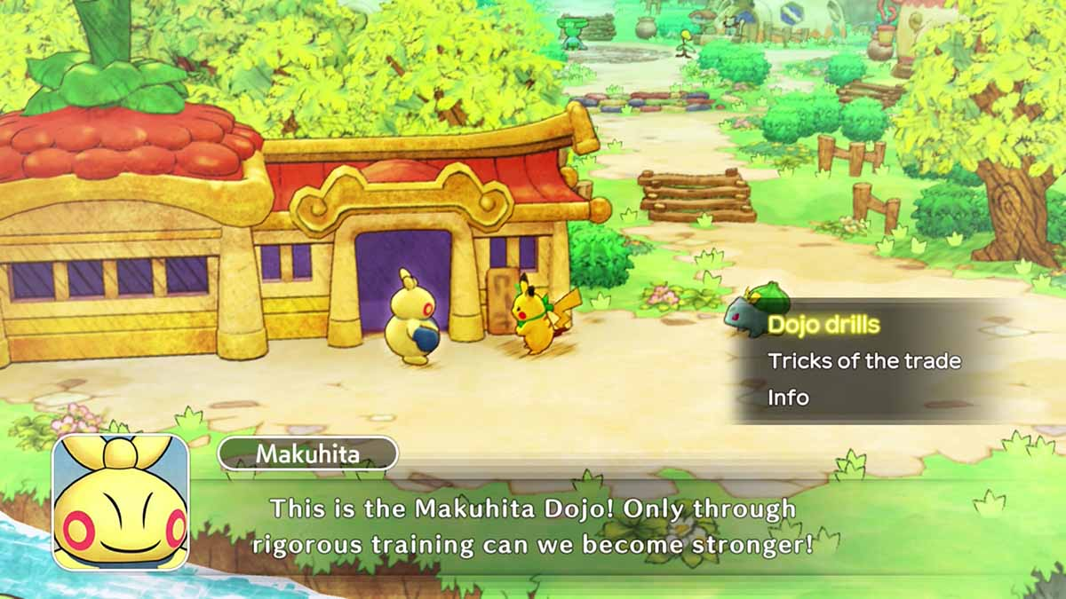 Pokémon Mystery Dungeon: Rescue Team DX доступна исключительно для систем Nintendo Switch