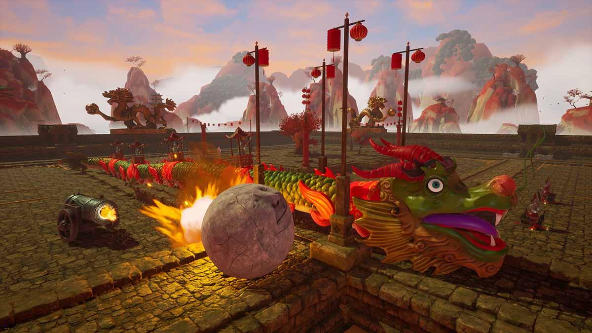 Rock of Ages 3: Make & Break выйдет 2 июня на Nintendo Switch, PS4, Xbox One, ПК и Stadia