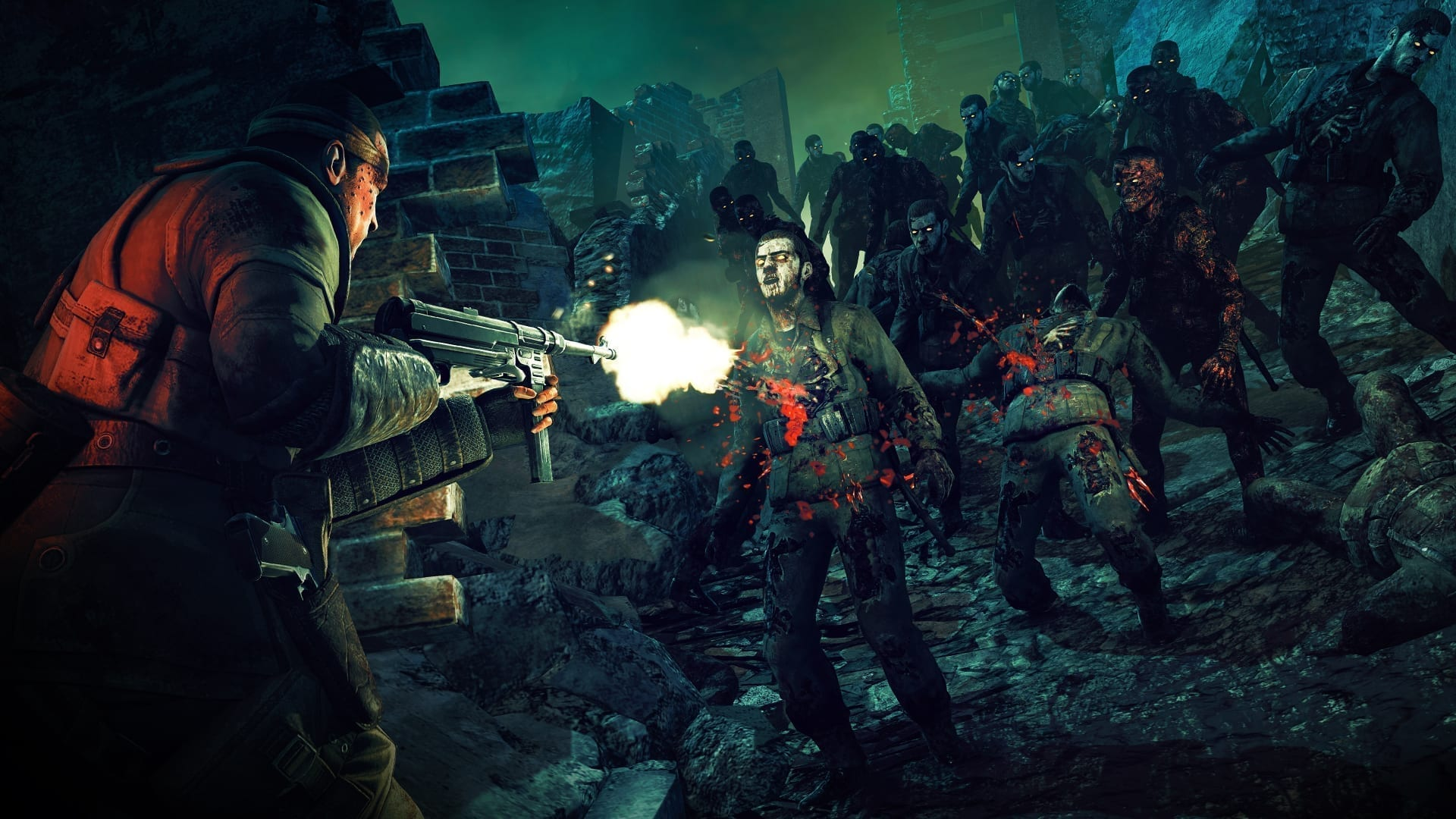 Zombie Army Trilogy выйдет 31 марта на Nintendo Switch