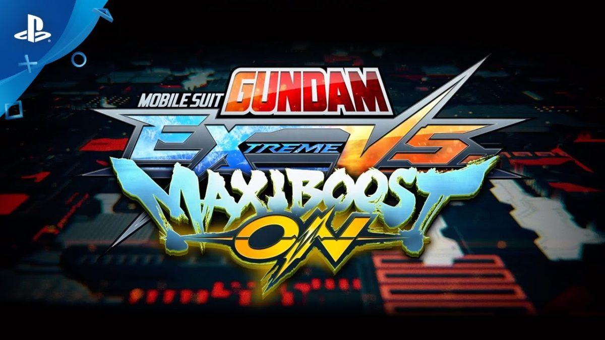 Mobile Suit Gundam: Extreme Vs. Maxi Boost ON выйдет 30 июля на PS4