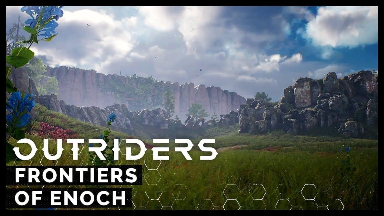 """Видео Outriders """"Frontiers of Enoch"""" - показывает новые окружающие среды"""