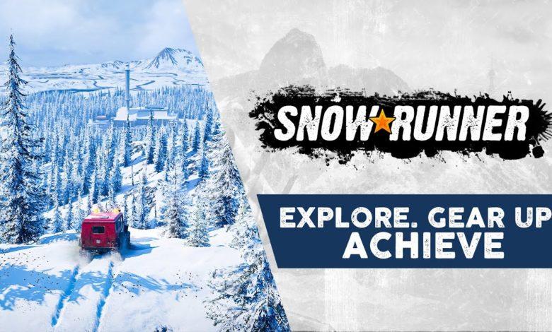 SnowRunner: трейлер Explore, Gear Up, Achieve приглашает в неумолимый открытый мир