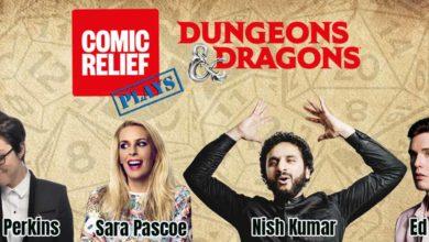 Комики объединились, для живого мероприятия Dungeons & Dragons в ответ на Covid-19