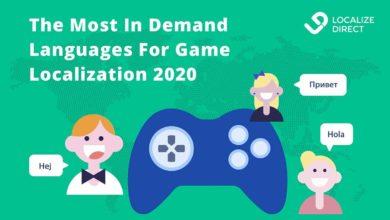 Наиболее востребованные языки для локализации игр в 2020 году
