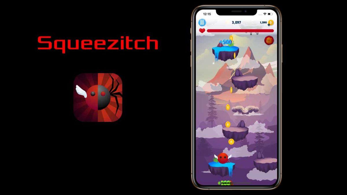 Новая казуальная игра Squeezitch для iOS теперь доступна в App Store
