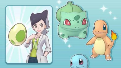 Теперь игроки в Pokémon Masters могут собирать яйца, чтобы объединиться с Бульбазавром, Чармандером или Сквиртлом