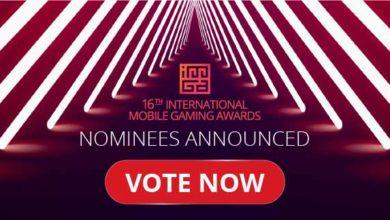Photo of 16-я Международная премия в области мобильных игр объявляет своих номинантов