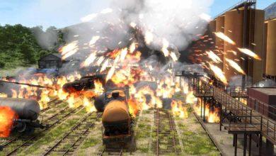 Altfuture приносит взрывающиеся поезда на ПК и VR в Derail Valley