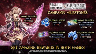 Final Fantasy: Brave Exvius отмечает запуск нового мобильного названия событием в игре