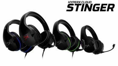 HyperX расширяет линейку гарнитур HyperX Stinger двумя новыми игровыми гарнитурами