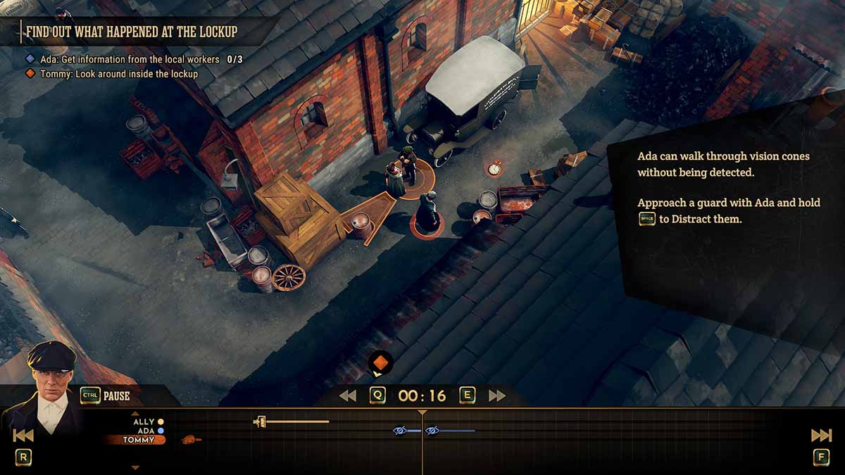 Peaky Blinders: Mastermind, головоломка-приключение по мотивам сериала Острые козырьки, выйдет на PS4, Xbox One, ПК и Nintendo Switch