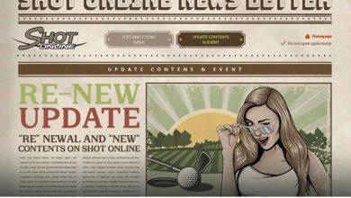 Shot Online: Обновление «RE-NEW», а также дополнительные материалы для Golf Club