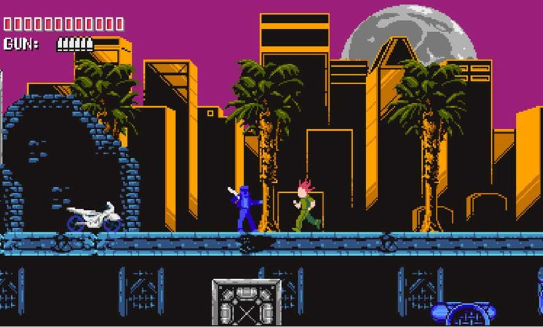 Street Cleaner: The Video Game - это ретро-платформер по мотивам синтиволнового музыканта из Сан-Диего