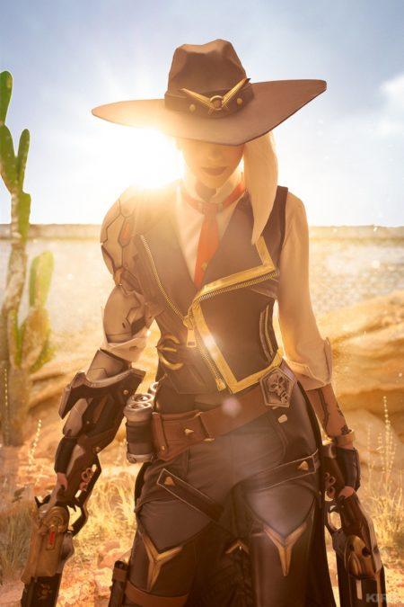 Косплей Overwatch (Ashe) – Ольга Хаку