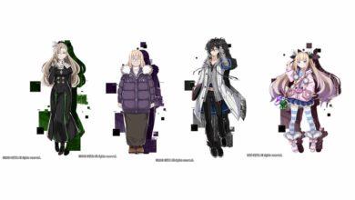 Встречайте персонажей Midra, Julietta, Arata и Lydia в Death end re;Quest 2