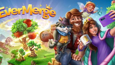 В новой мобильной приключенческой головоломке EverMerge знаменитые герои истории живут вместе в одном необычном мире