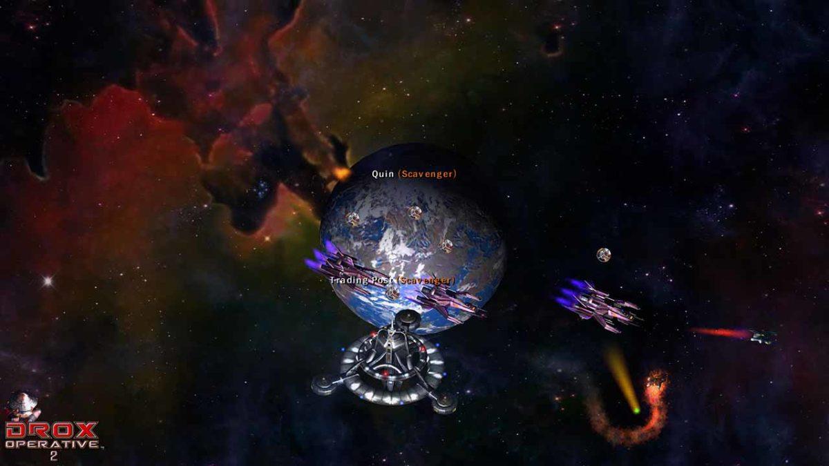 В Drox Operative 2 вас ждут враждебные расы и космические битвы