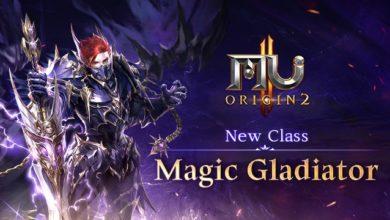 В MU ORIGIN 2 добавили новый класс Magic Gladiator