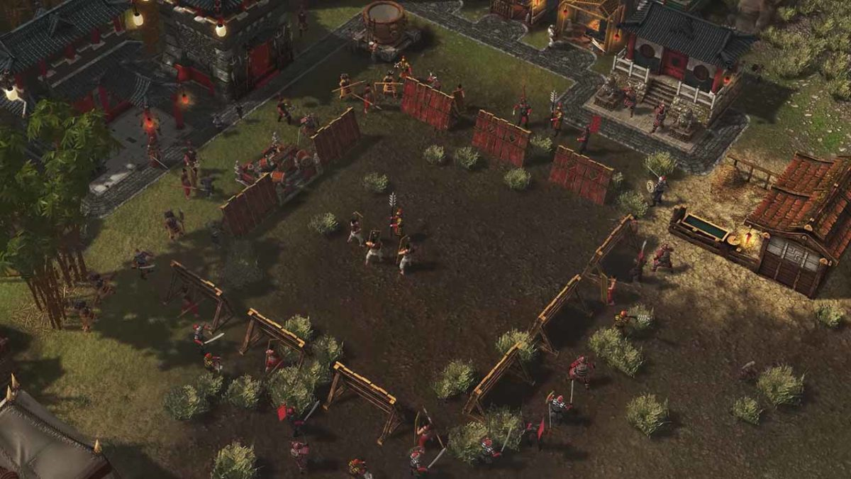 В Stronghold: Warlords стали доступны самураи, имперские гвардейцы и имперские воины