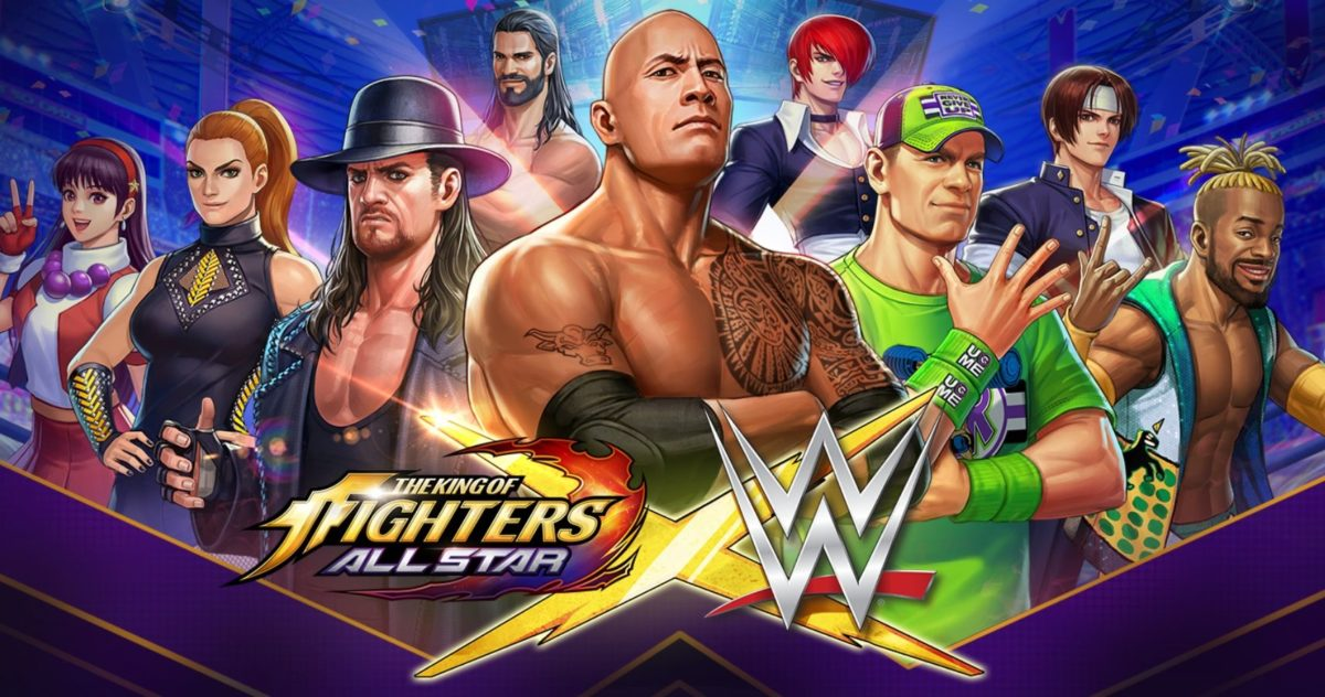 В The King of Fighters All Star стали доступны бойцы WWE