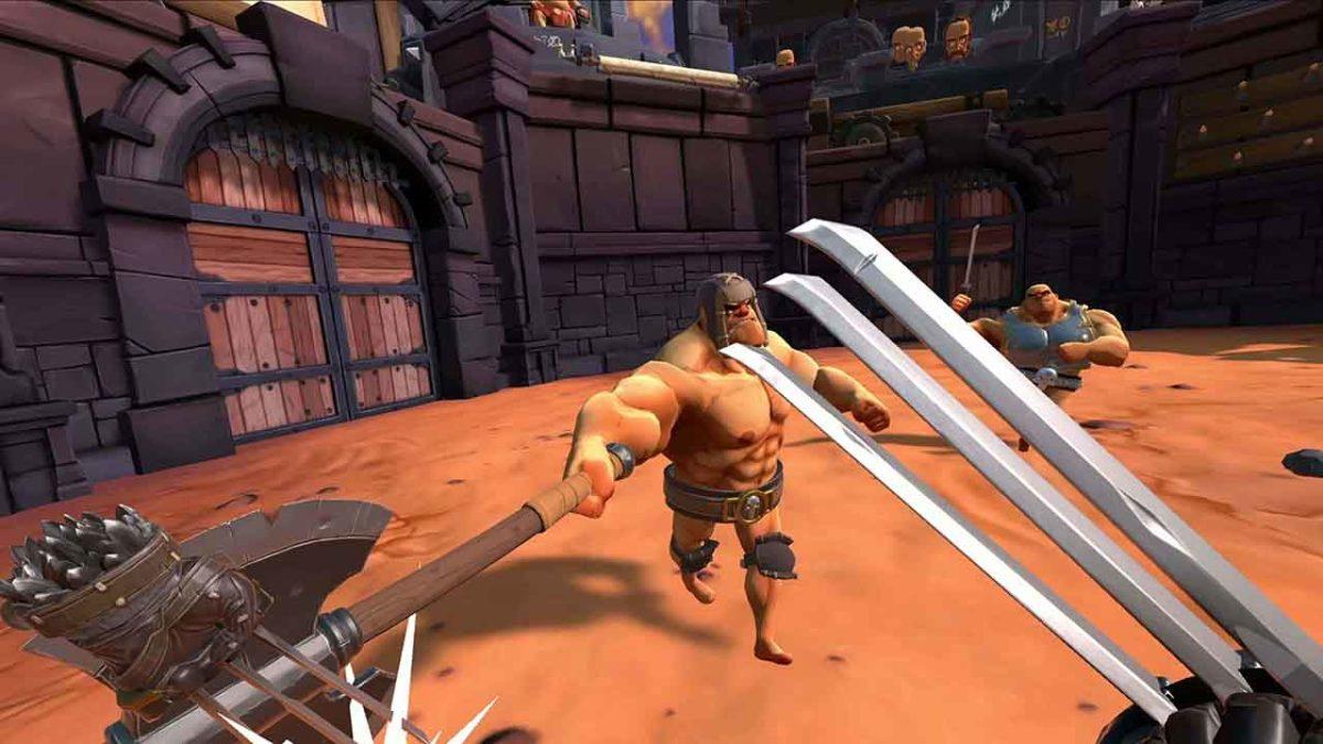 Гладиаторский VR-симулятор GORN врывается в PlayStation VR