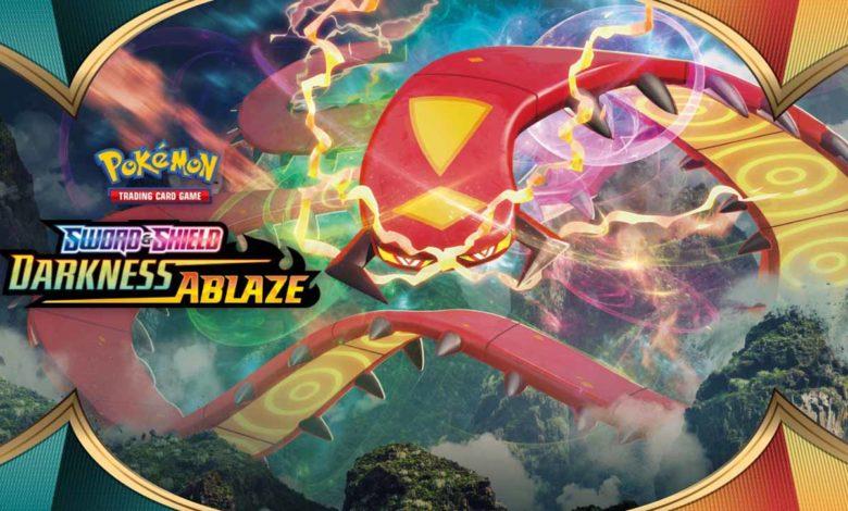 Для Pokémon Trading Card Game в августе выйдет расширение Sword & Shield - Darkness Ablaze