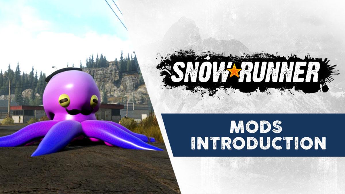Моддеры уже вносят фантастический контент сообщества в SnowRunner