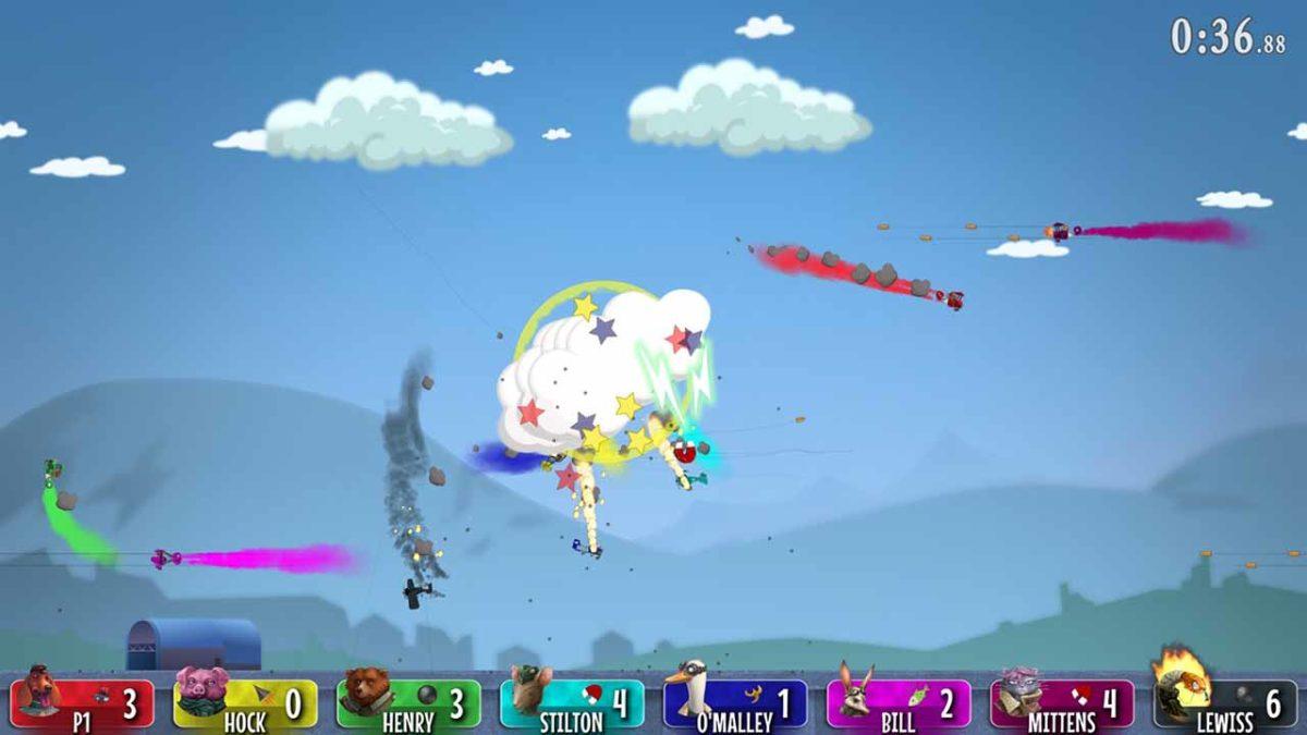 Новое обновление для Baron: Fur is Gonna Fly добавляет четыре дополнительных режима игры и саундтрек