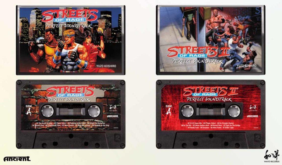 Переиздание саундтреков Streets of Rage на CD и кассете