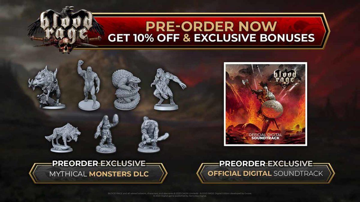 Предзаказы для Blood Rage: Digital Edition теперь доступны в Steam, включая скидку и два эксклюзивных бонуса